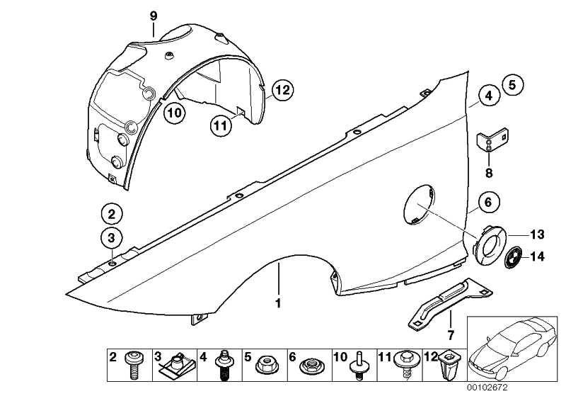 Clipmutter M6              1er 3er X1 X3 X5 X6 Z4 MINI  (41357060601)