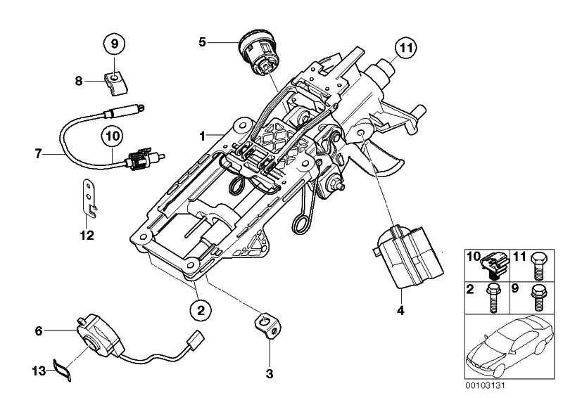 Schliesszylinder mit Code  MINI  (32306758079)