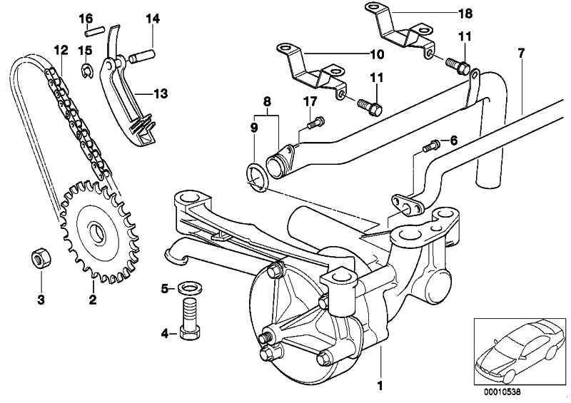 Zylinderschraube mit Scheibe M5X16           3er Z3 Z4  (07129903041)