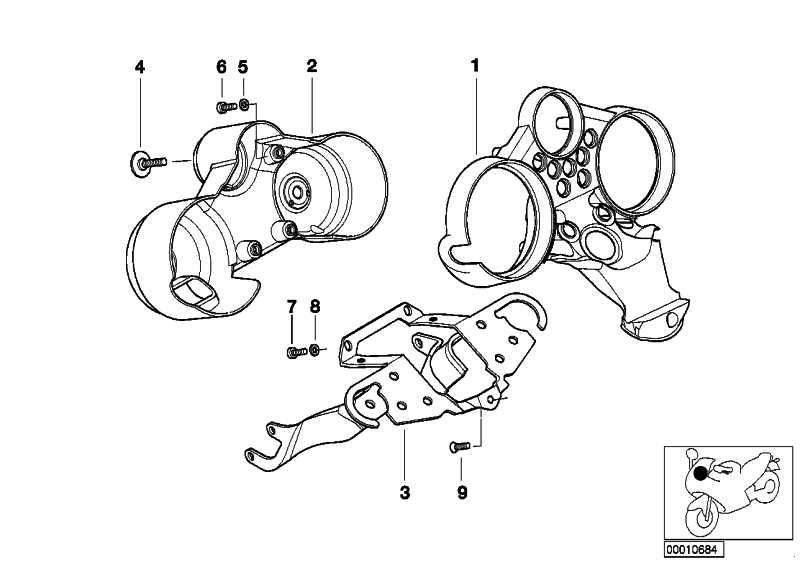 Instrumententräger SILBER          259R  (62112306724)