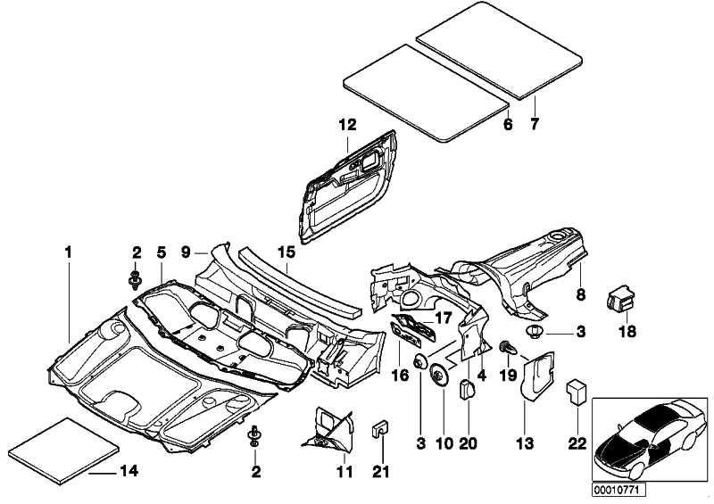 Schallisolierung Mikrofiltergehäuse  7er  (51488160432)