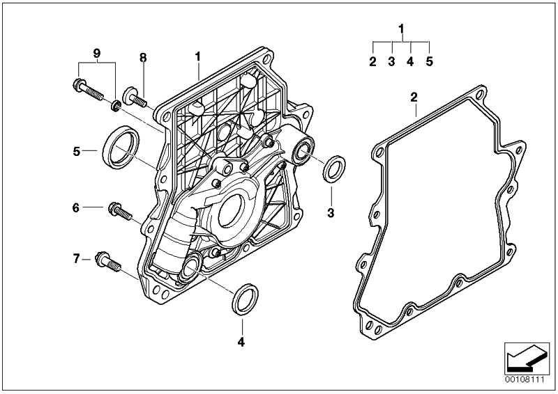 Sechskantschraube mit Dichtring M6X30           MINI  (07131485184)