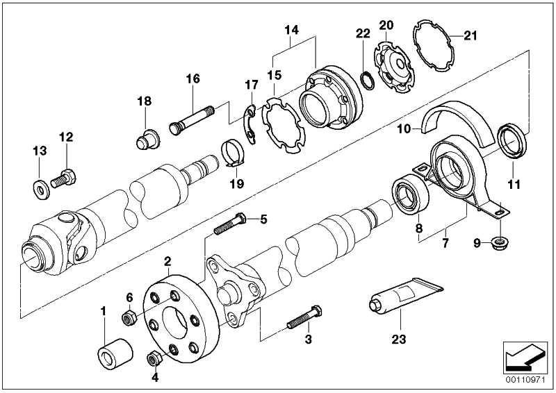 Sechskantschraube mit Rippverzahnung M12X1,5X71-ZNS3 1er 3er 5er 6er 7er X3  (26117537777)