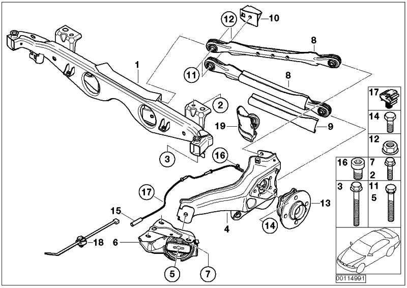 Sechskantschraube mit Scheibe M10X35-10.9     MINI  (33306772430)
