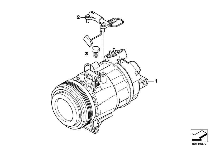Klimakompressor  Z4  (64509182800)