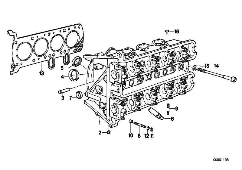 Zylinderkopfdichtung   (11121465139)