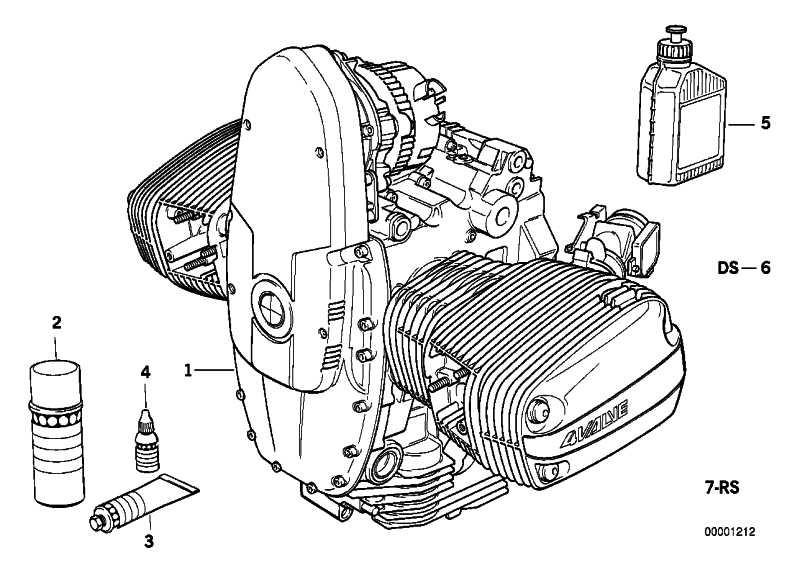 Reparatursatz Ölwechsel   (11001341616)