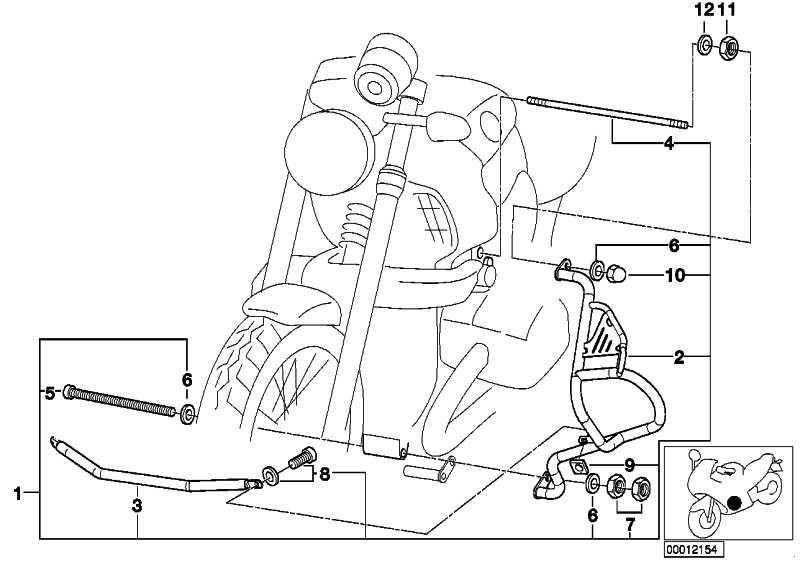 Zylinderschutzbügel links  259C  (46711342667)
