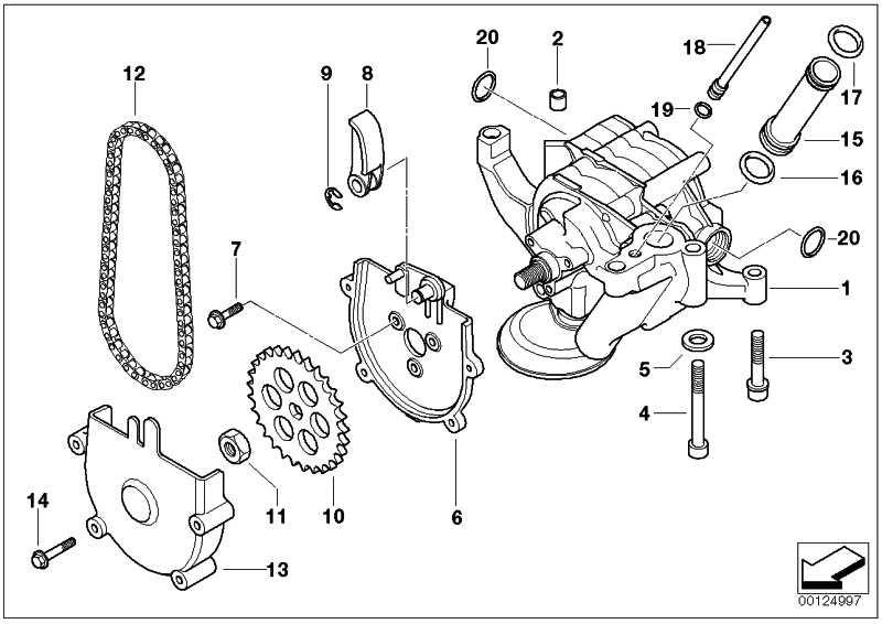 Kettenspanner  5er Z8  (11411407056)