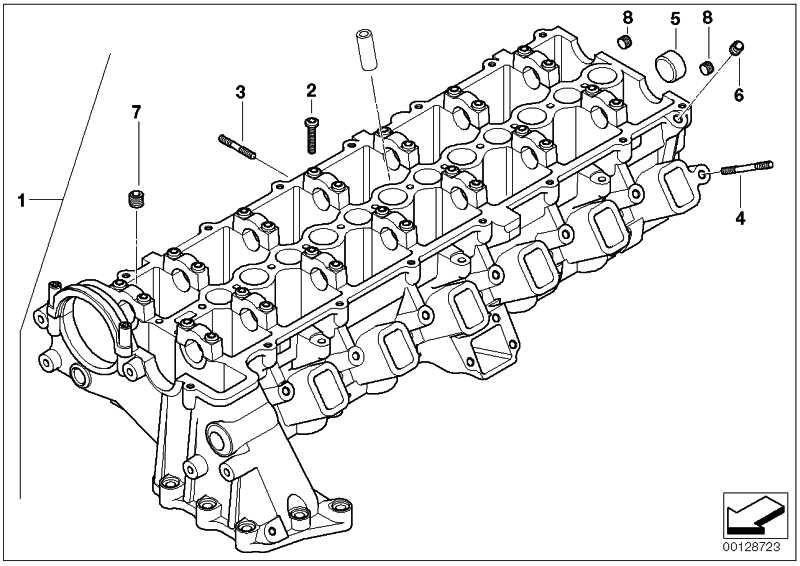 Zylinderkopf  3er 5er 6er 7er X3 X5 X6  (11127806061)