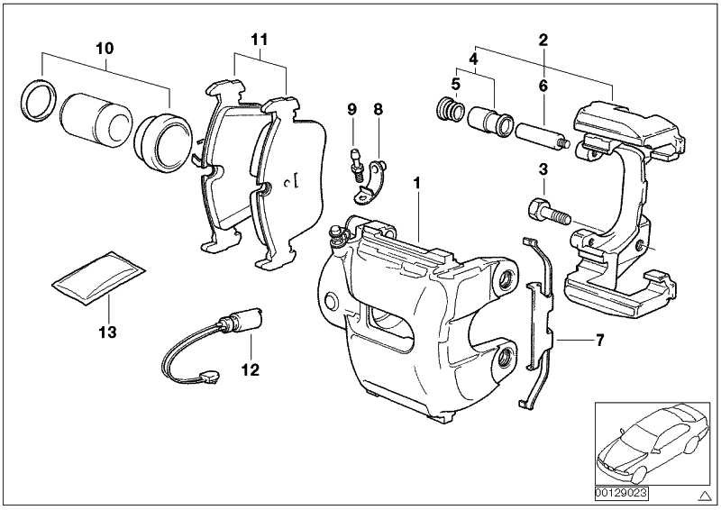 Bremsbelagfühler  X3  (34353411756)