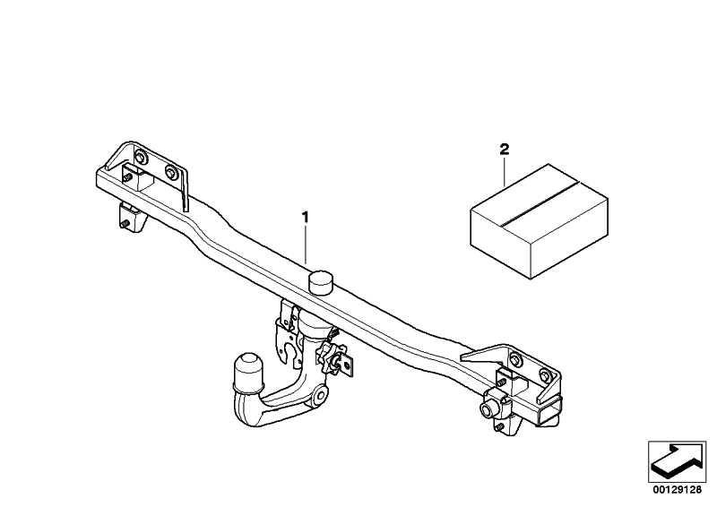 Klappe Anhängerkupplung M               X3  (51123414413)