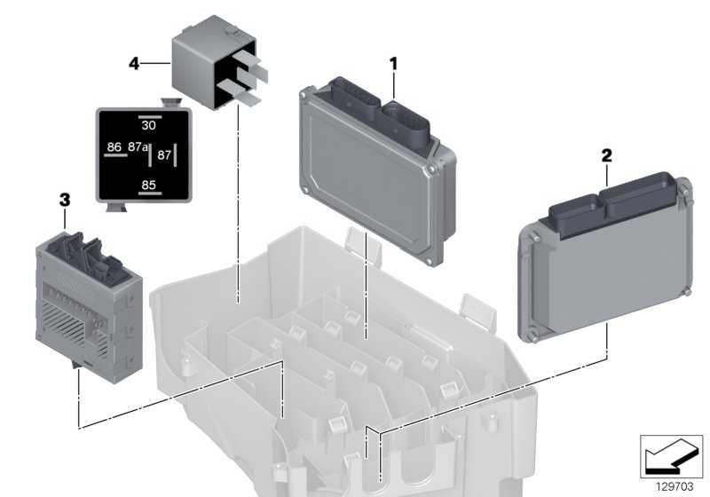 Integriertes Versorgungsmodul  5er 6er 7er X5  (12527510638)