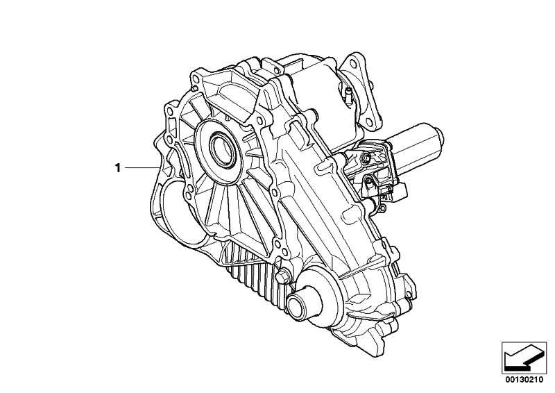 Austausch Verteilergetriebe ATC 500         X5  (27107555297)