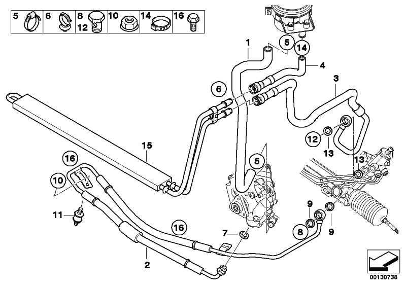 Kühlerrücklaufleitung  X5  (32416763978)