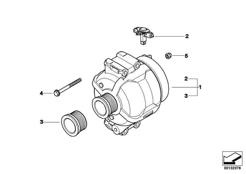Austausch Generator 150A 1er 3er  (12317802927)