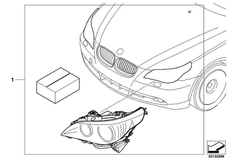 Nachrüstsatz Adaptive Headlights AHL E60         5er  (63130398578)