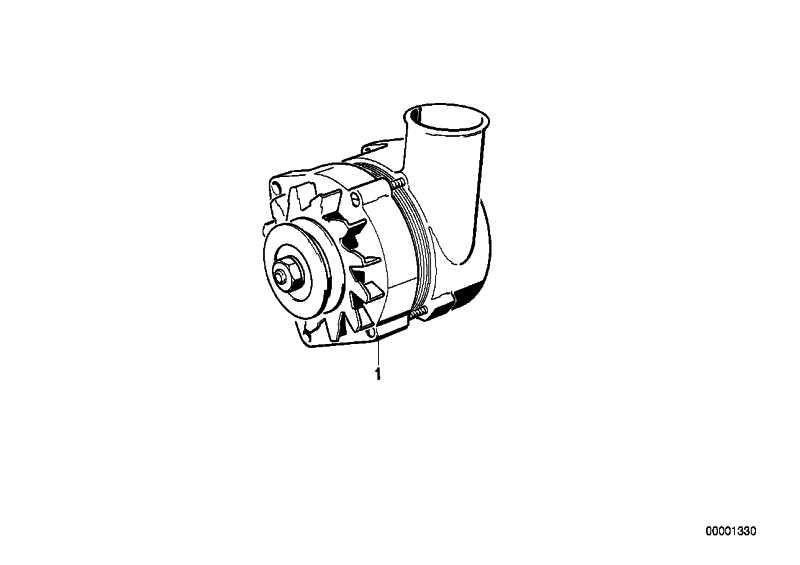 Austausch Kompakt Generator 140A 3er 5er  (12311744567)