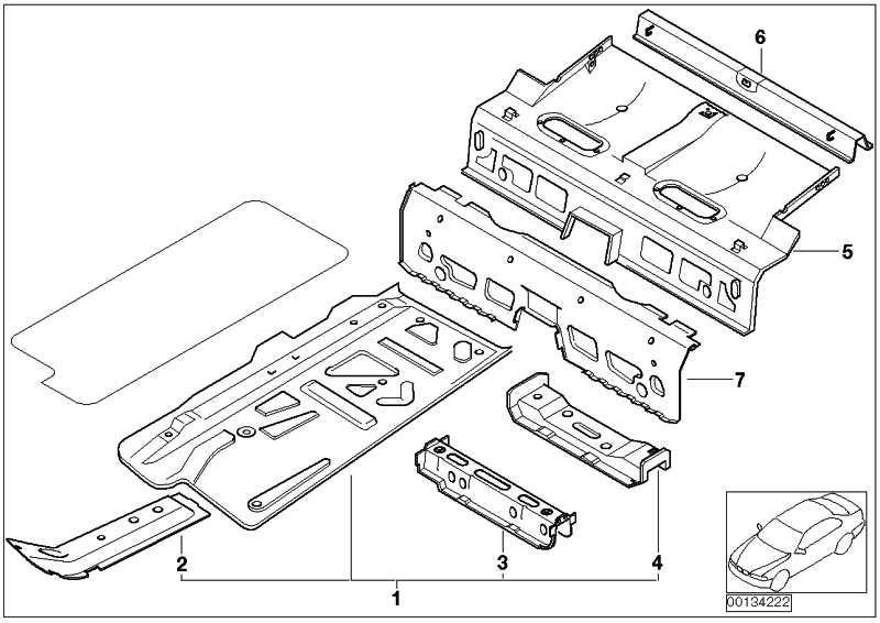 Querträger Rückenlehne  MINI  (41117189255)