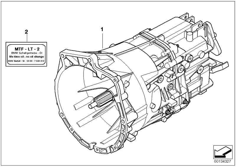 Austausch 5 Gang Getriebe GS5-39DZ - THBM 3er 5er  (23007518077)