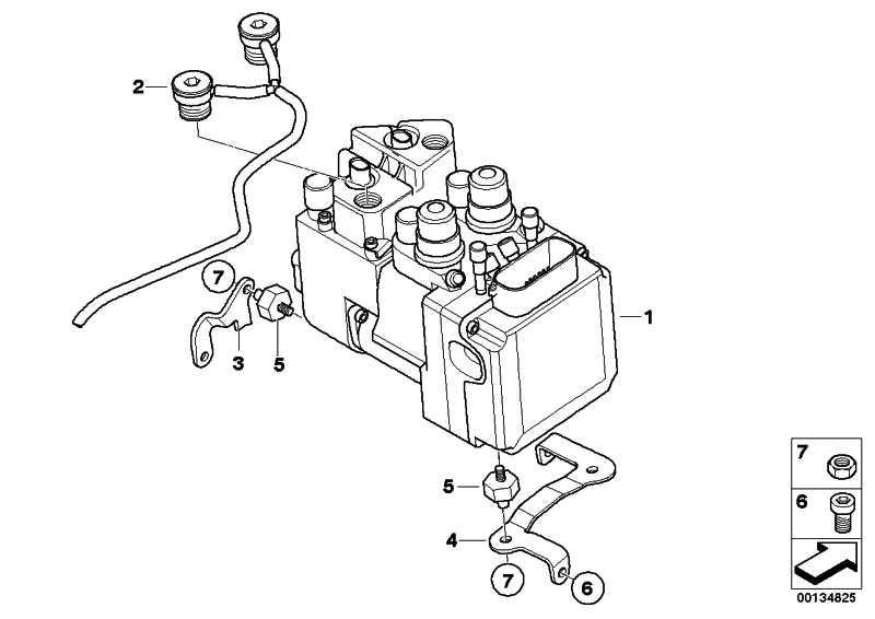 Entlüftungsschlauch mit Deckel I-ABS   (34517674836)