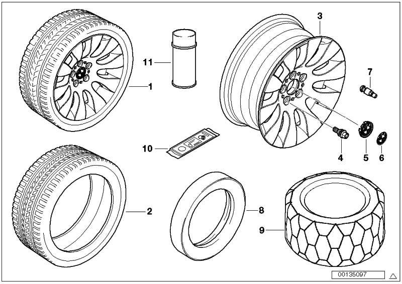 Michelin Pilot Alpin PA4 AR PAX 245-710R490 AC 7er  (36126776306)