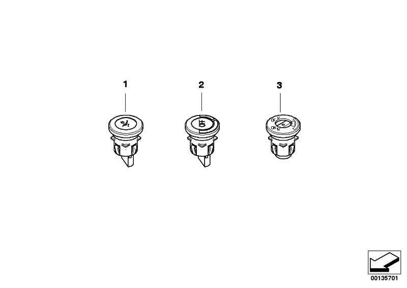 Schalter Airbag  MINI  (61316937327)