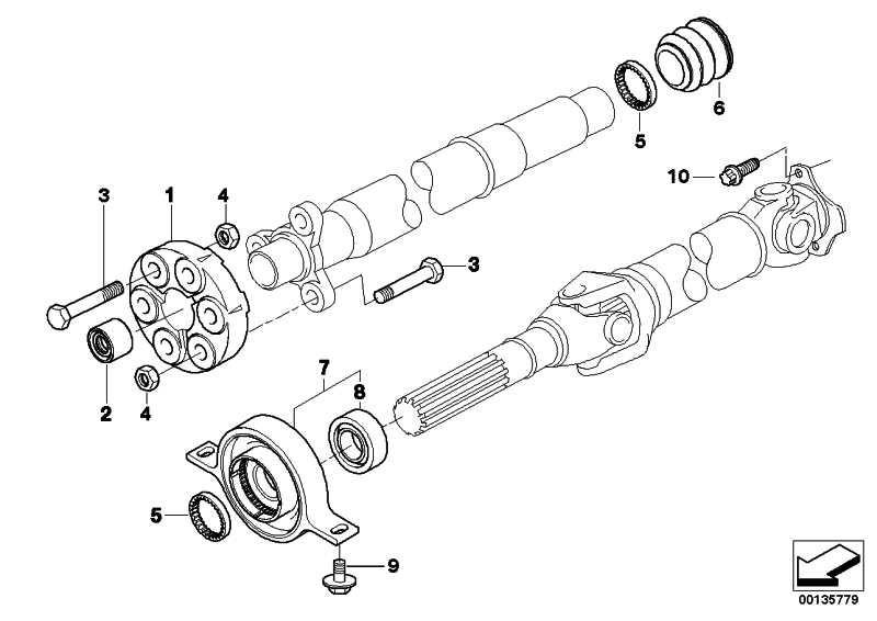Sechskantmutter M10-10-ZNS3     1er 3er 5er Z4  (07129904879)
