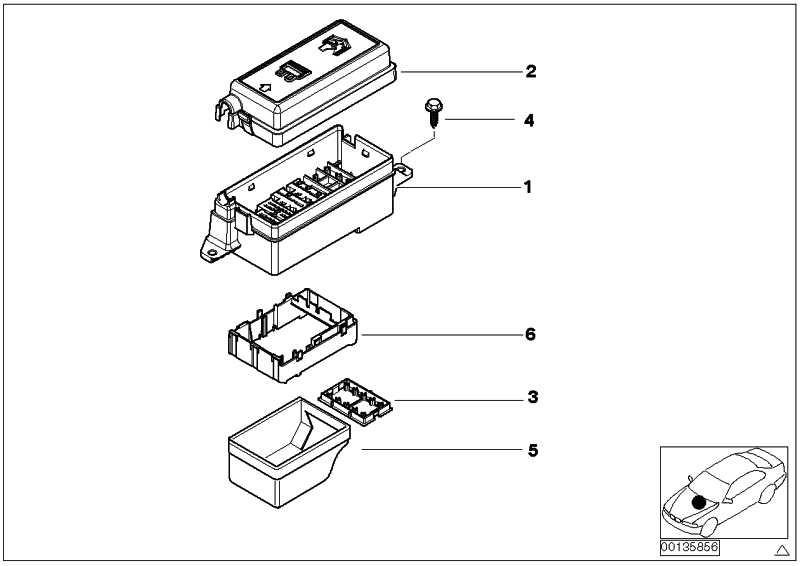 Deckel Sicherungskasten  MINI  (61131509012)