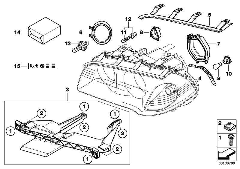 Dichtung Scheinwerfer-Motorhaube links  X3  (63126939273)