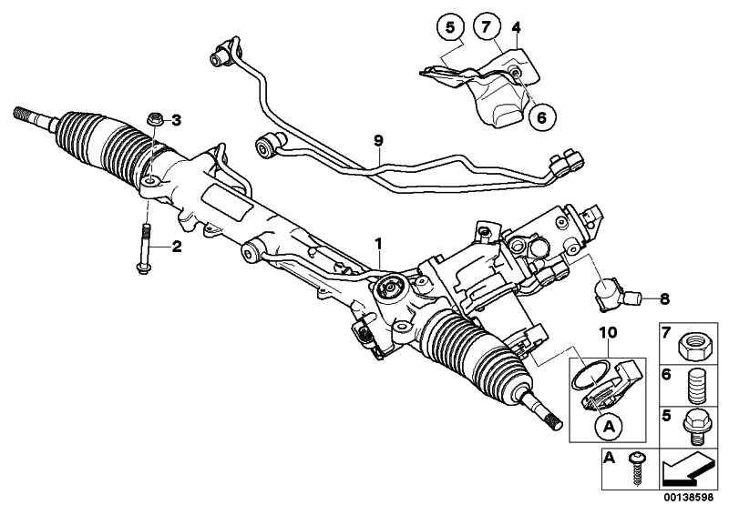 Satz Rohrleitung Aktivlenkung M12X1,5 5er 6er  (32106777182)