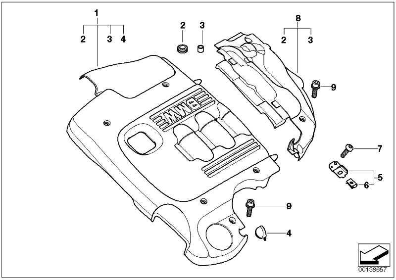 Abdeckung Akustik  X3  (11147794700)