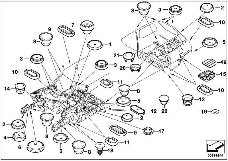 Verschlussstopfen D=10MM / M12 1er 2er 3er 4er MINI  (51717056053)