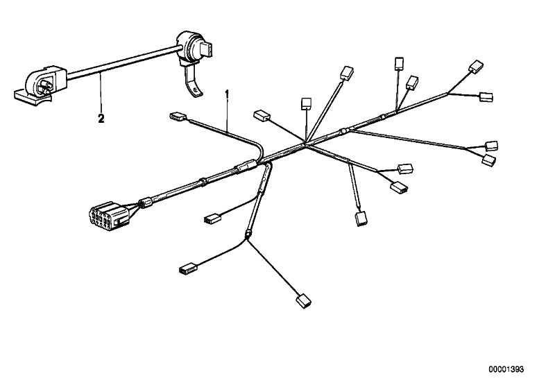 Steckerschiene Einspritzventil  3er 5er Z1  (12511719606)