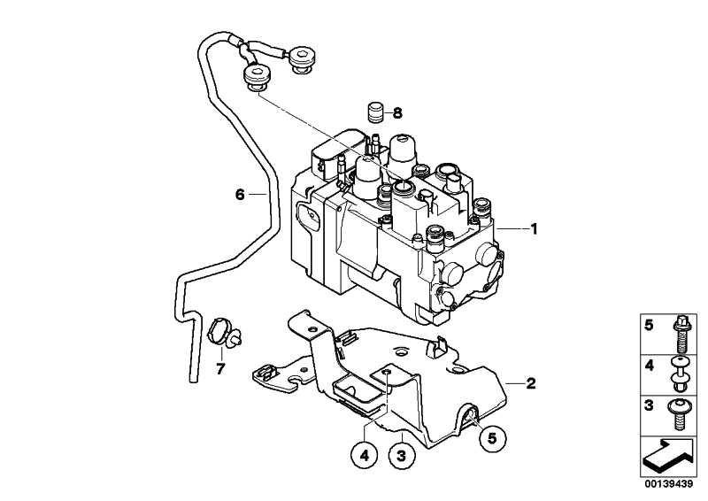ASA-Schraube M6X20-8.8-ZNS3  5er 6er 7er X5 X6  (07129905048)
