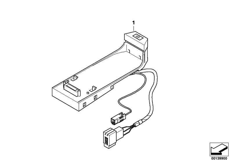 Nachrüstsatz Freisprech Bluetooth  5er  (84640307681)