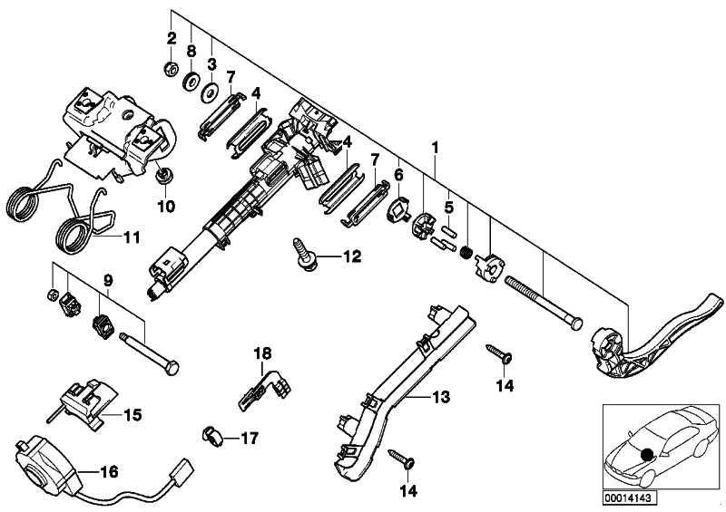 Halter Lenkwinkelsensor  3er X3 Z4  (32301094904)