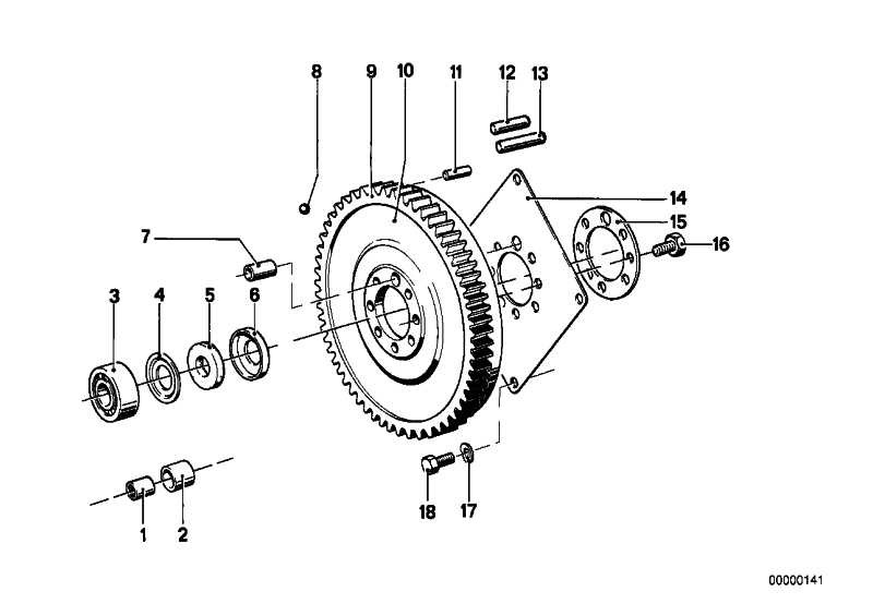 Zylinderstift   3er 5er 6er 7er BMW Z1  (11221744338)