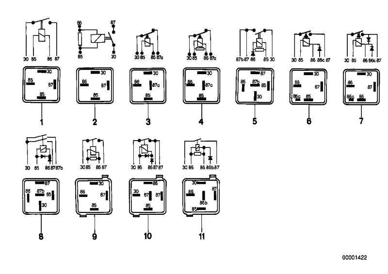Diodenrelais  3er 5er 6er 7er  (61311362224)