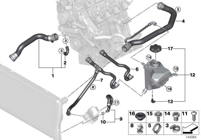 Schraubverschluss Ausgleichbehälter  1er 2er 3er 4er 5er 6er 7er X1 X3 X4 X5 X6 Z4  (17117639020)