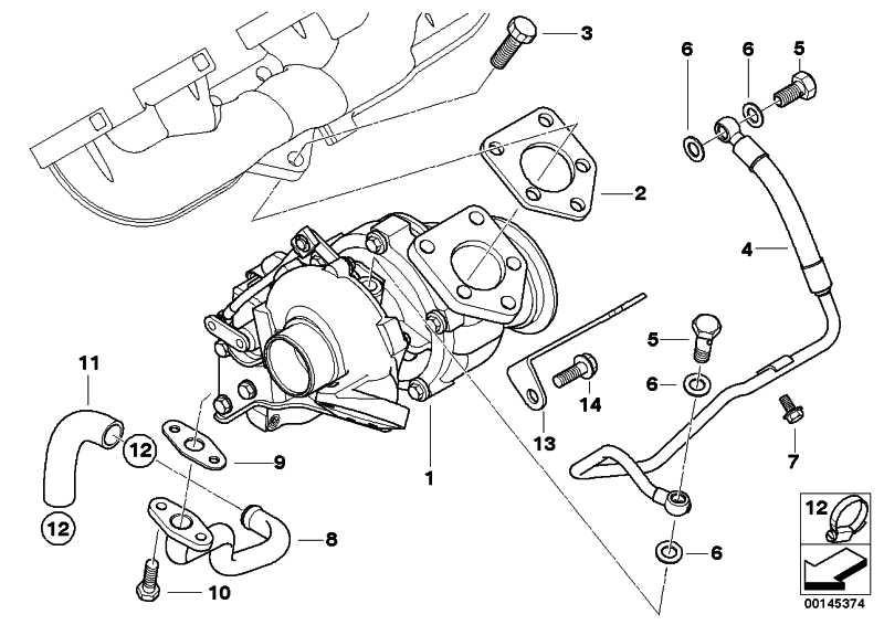Austausch Turbolader ZYL. 1-4 7er  (11657794251)