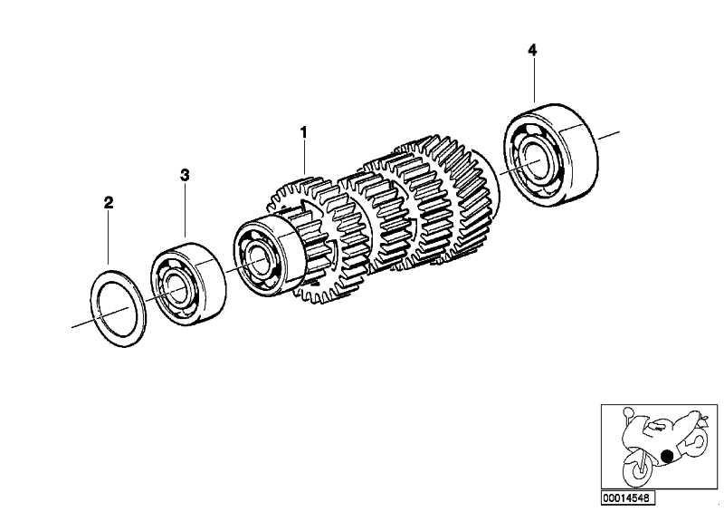 Rillenkugellager Clean Bearing 17X47X14         (23122325521)