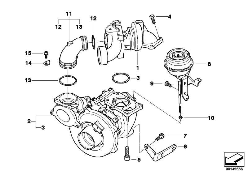 Austausch Turbolader  5er  (11657794572)