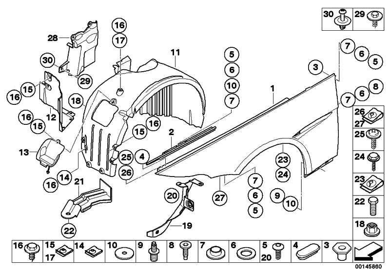 Torxschraube mit Scheibe ISA M6X22 5er 6er X5 X6 MINI  (07147144993)