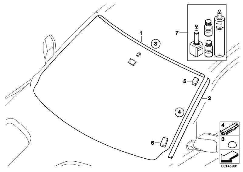 Formteil Wasserfangleiste oben  X3  (51313419453)