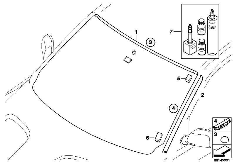 Wasserfangleiste grundiert rechts  X3  (51313420830)