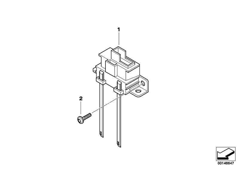 Flachfederkontakt Microtimer 0,5-1,0MM²/AU 1er 3er 5er 6er 7er X1 X3 X5 X6 Z4 MINI  (61138364519)