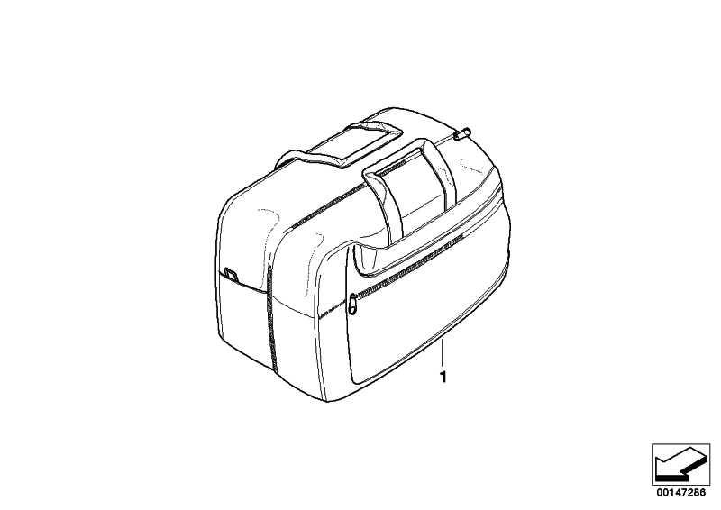 Innentasche für Koffer   (71607680543)