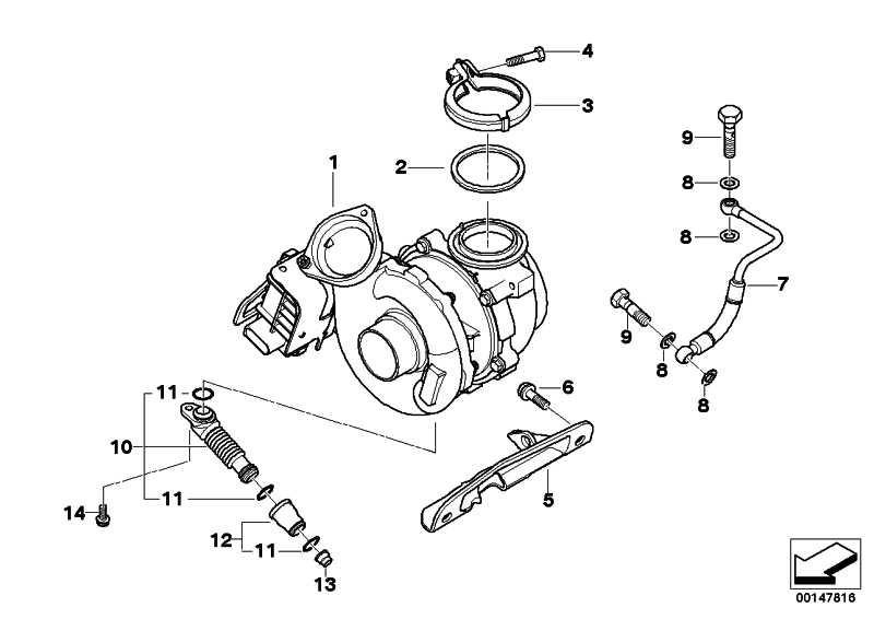 Austausch Turbolader  3er  (11657796312)