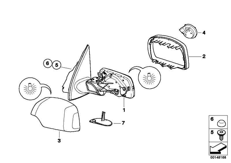 Abdeckung lackiert rechts CODE-UNI/MET.   X5  (51160007740)